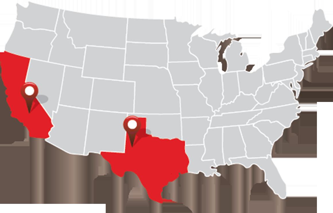 RHC Construction - Locations