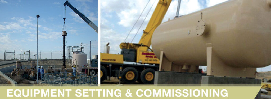 Equipment Setting and Commissioning